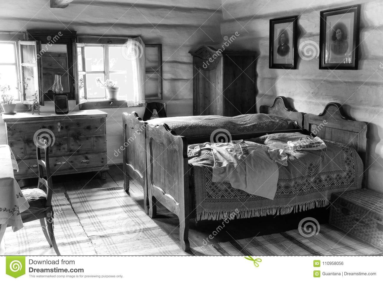 White Cottage Bedroom Furniture Lovely Old Bedroom Editorial Photo Image Of Fish Museum Peasant