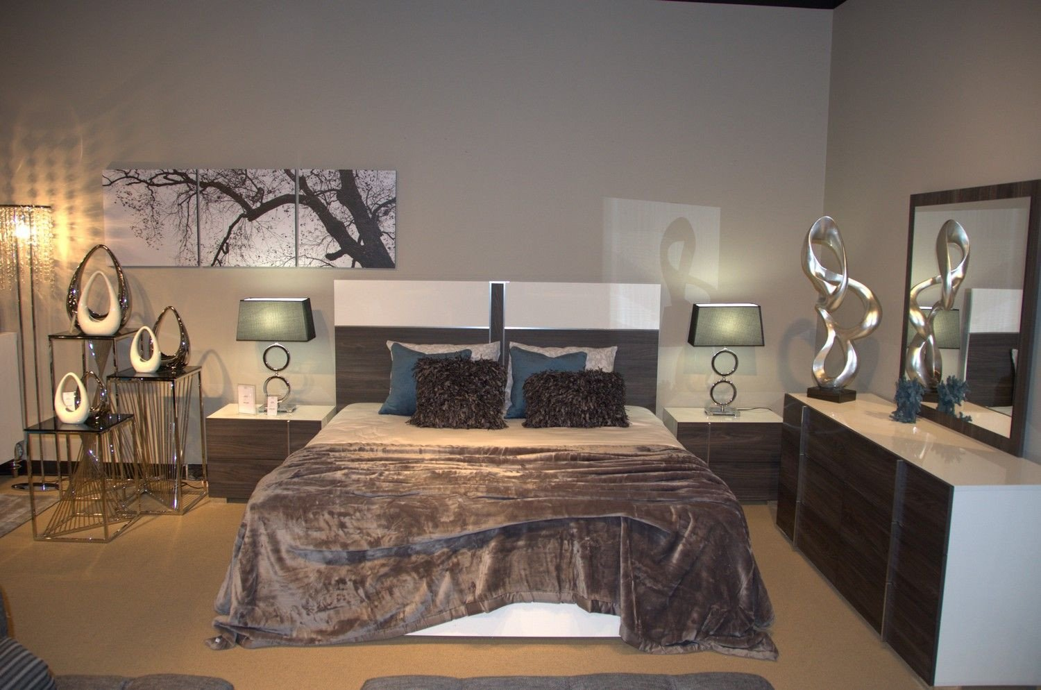 White Gloss Bedroom Furniture Lovely the Nova Domus Bedroom Set Will Give Your Bedroom A form Of