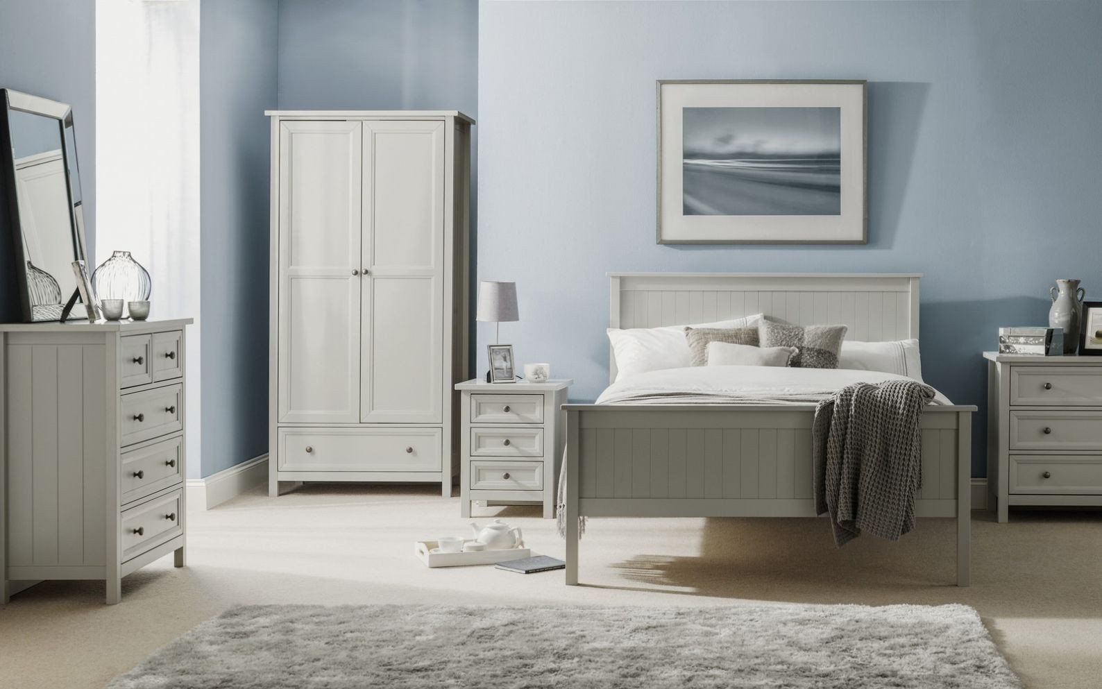 White Gloss Bedroom Furniture Luxury Julian Bowen Monaco Grey High Gloss Bedroom Range Bedsides