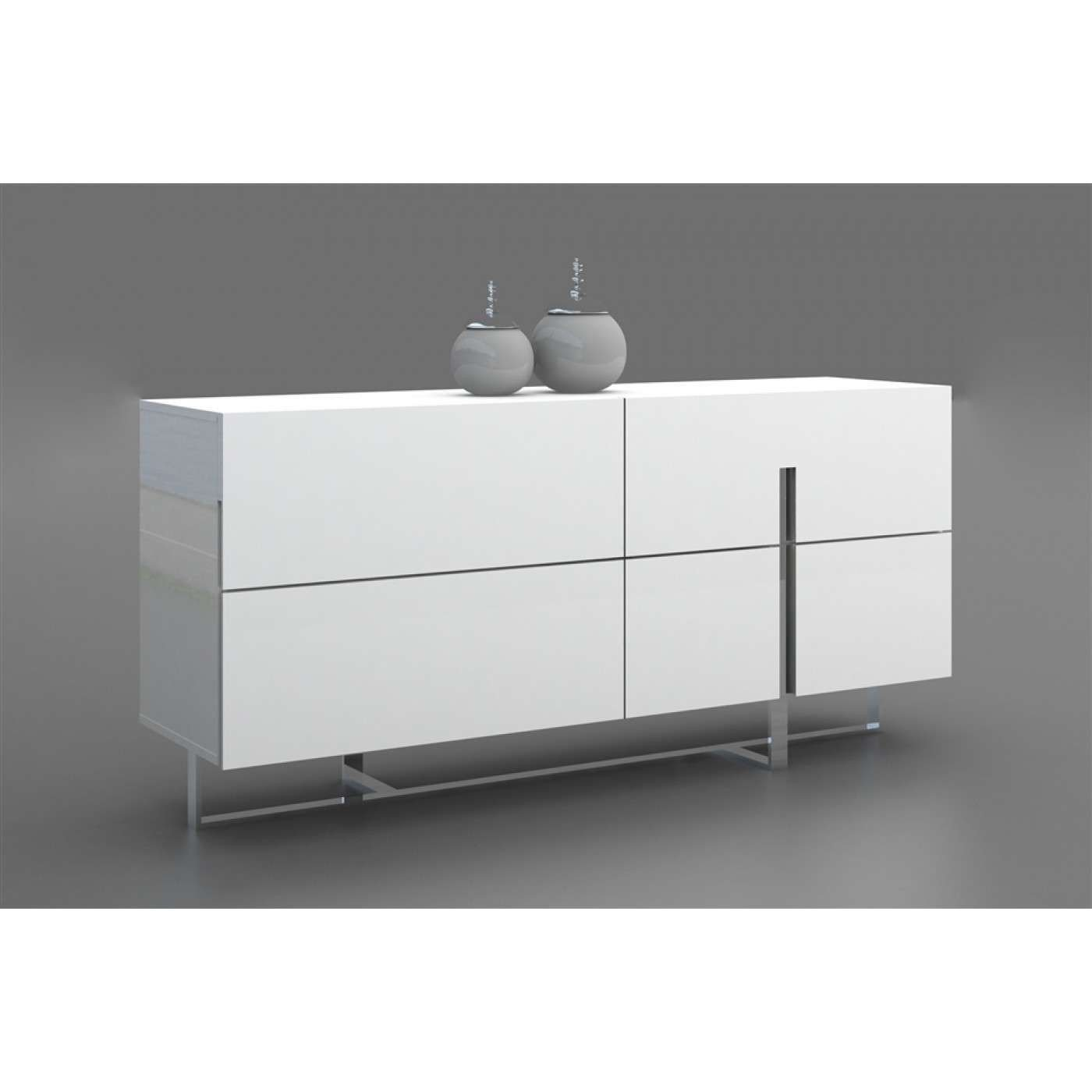 White Lacquer Bedroom Furniture Lovely Casabianca Home Collins High Gloss White Lacquer Dresser
