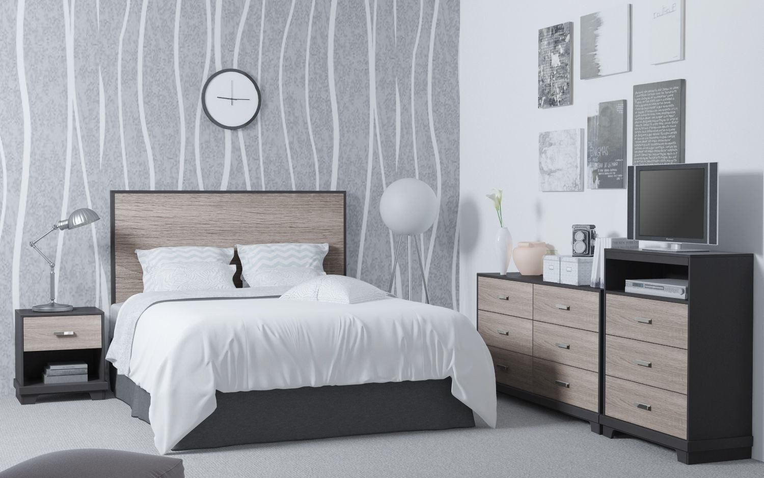 White Lacquer Bedroom Furniture Luxury Pin by Homestar north America On Bedrooms Collection