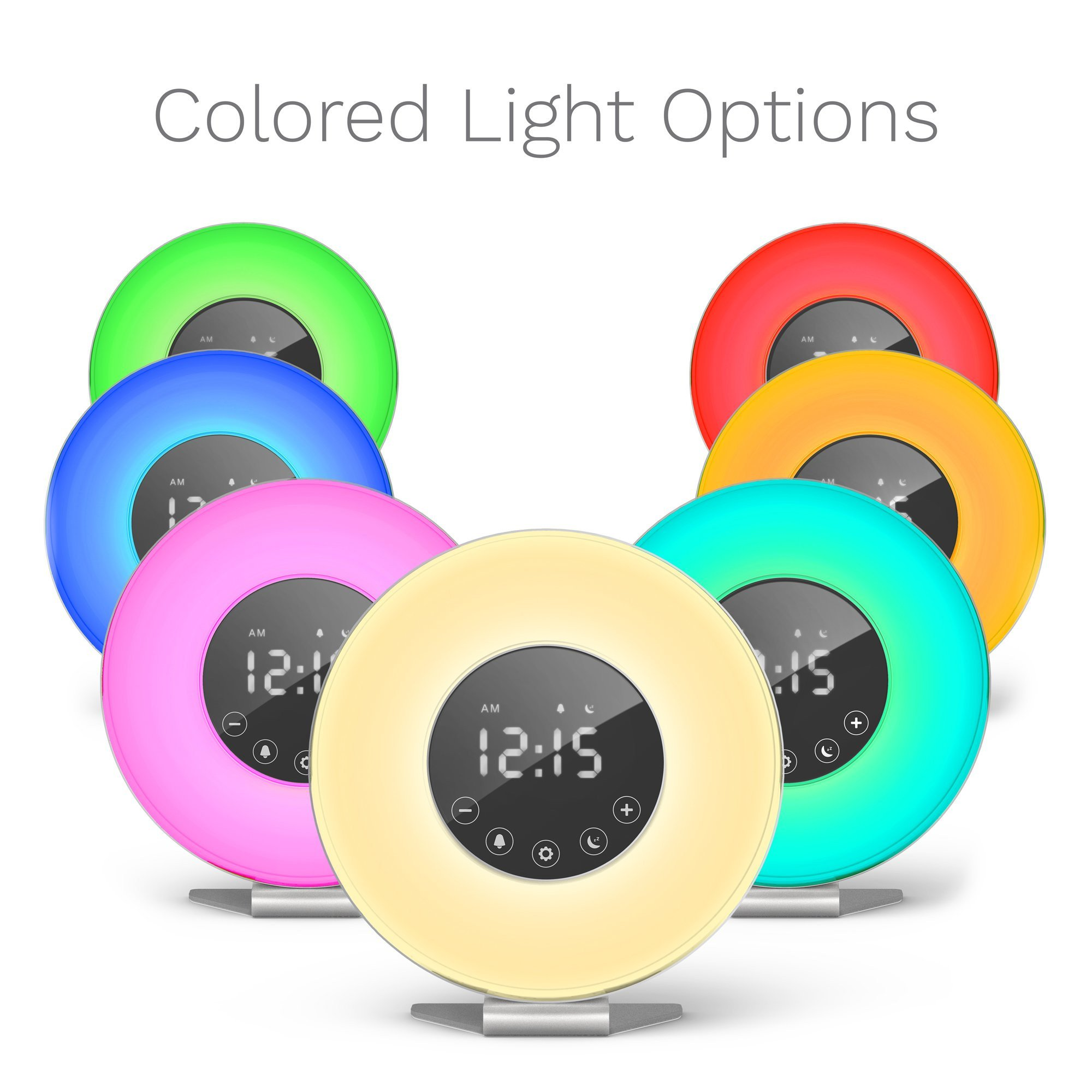 White Light for Bedroom Awesome Sunrise Alarm Clock