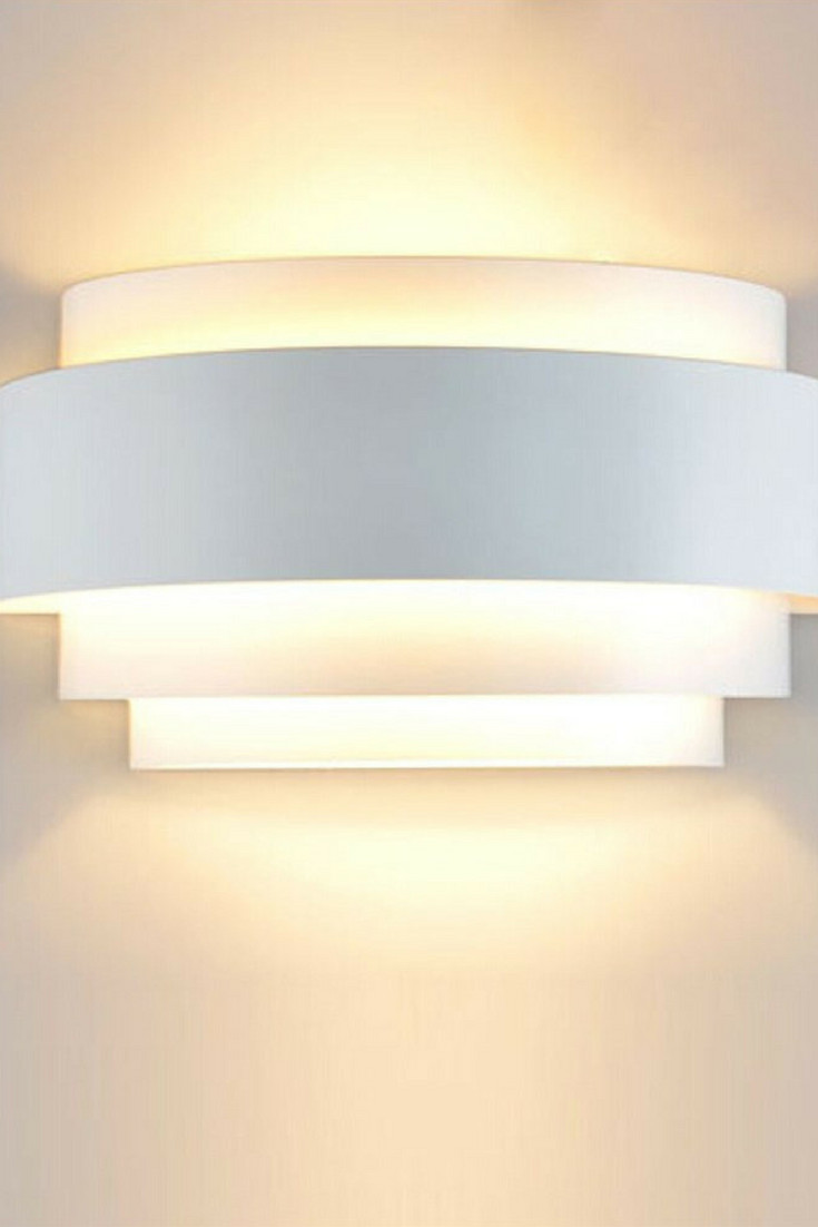 White Light for Bedroom New Unimall Led Wall Lights Up Down Beside Wall Sconce E27 Lamp