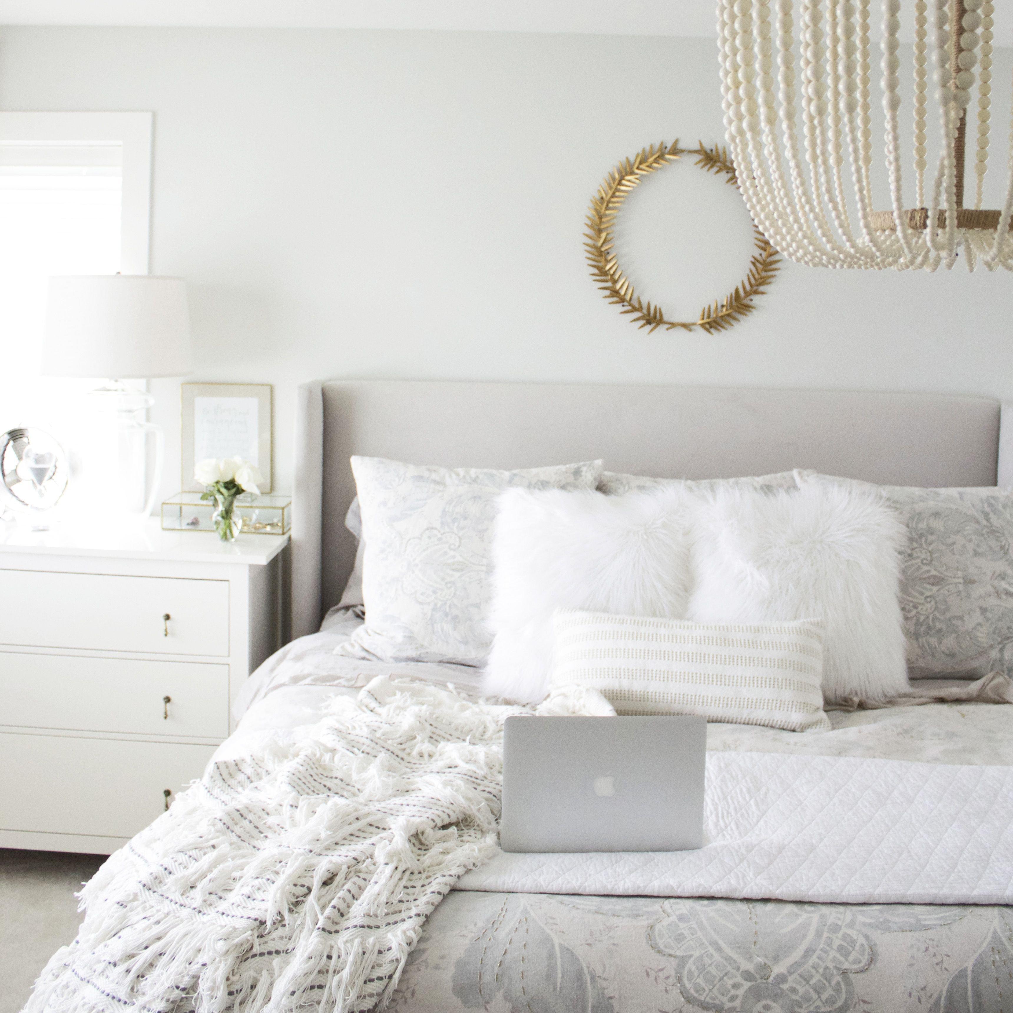 White Master Bedroom Furniture Best Of Bright Fresh Grey White Master Bedroom Design