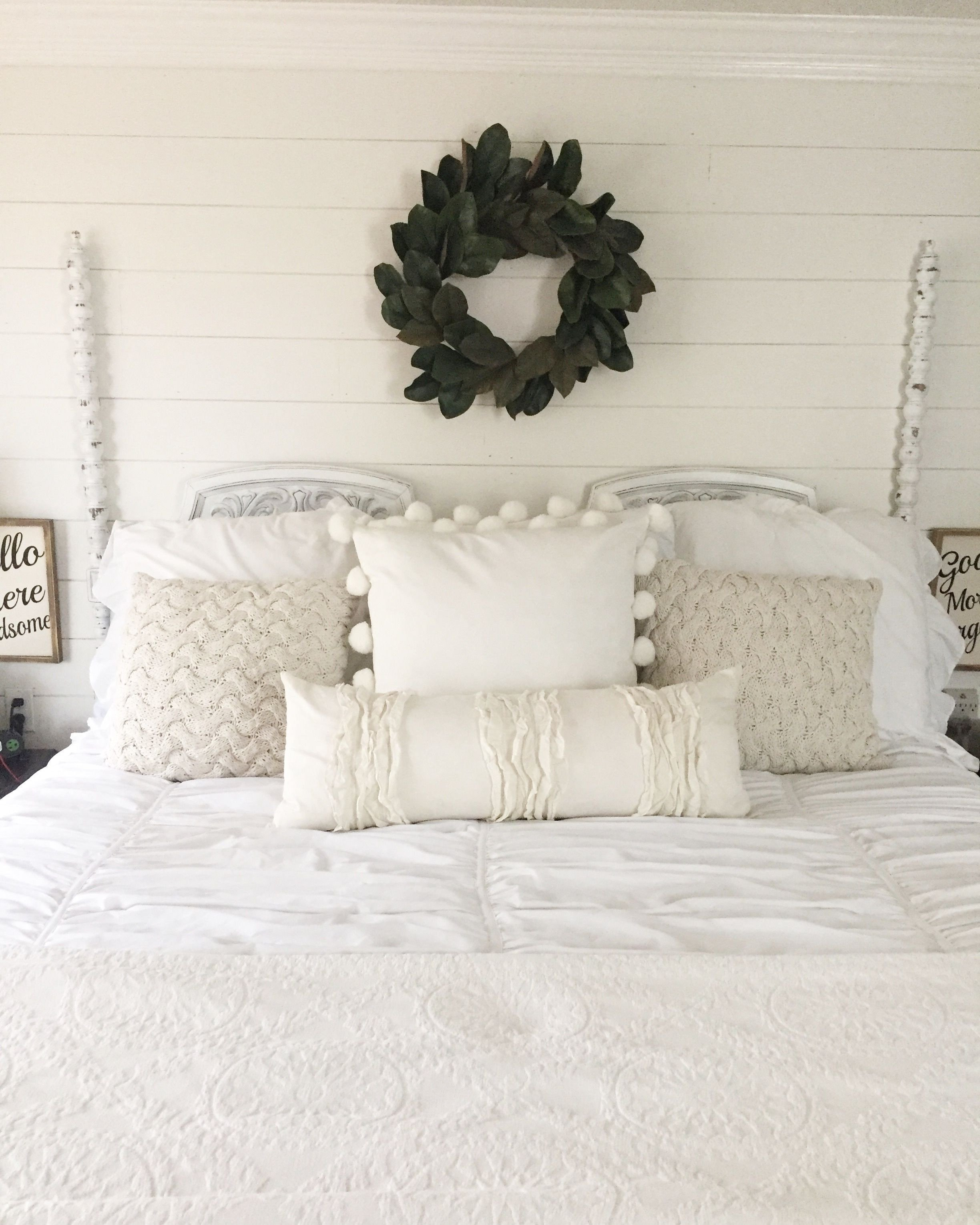 White Master Bedroom Furniture Elegant My Master Bedroom Walls Were Shiplapped and Painted Sherwin