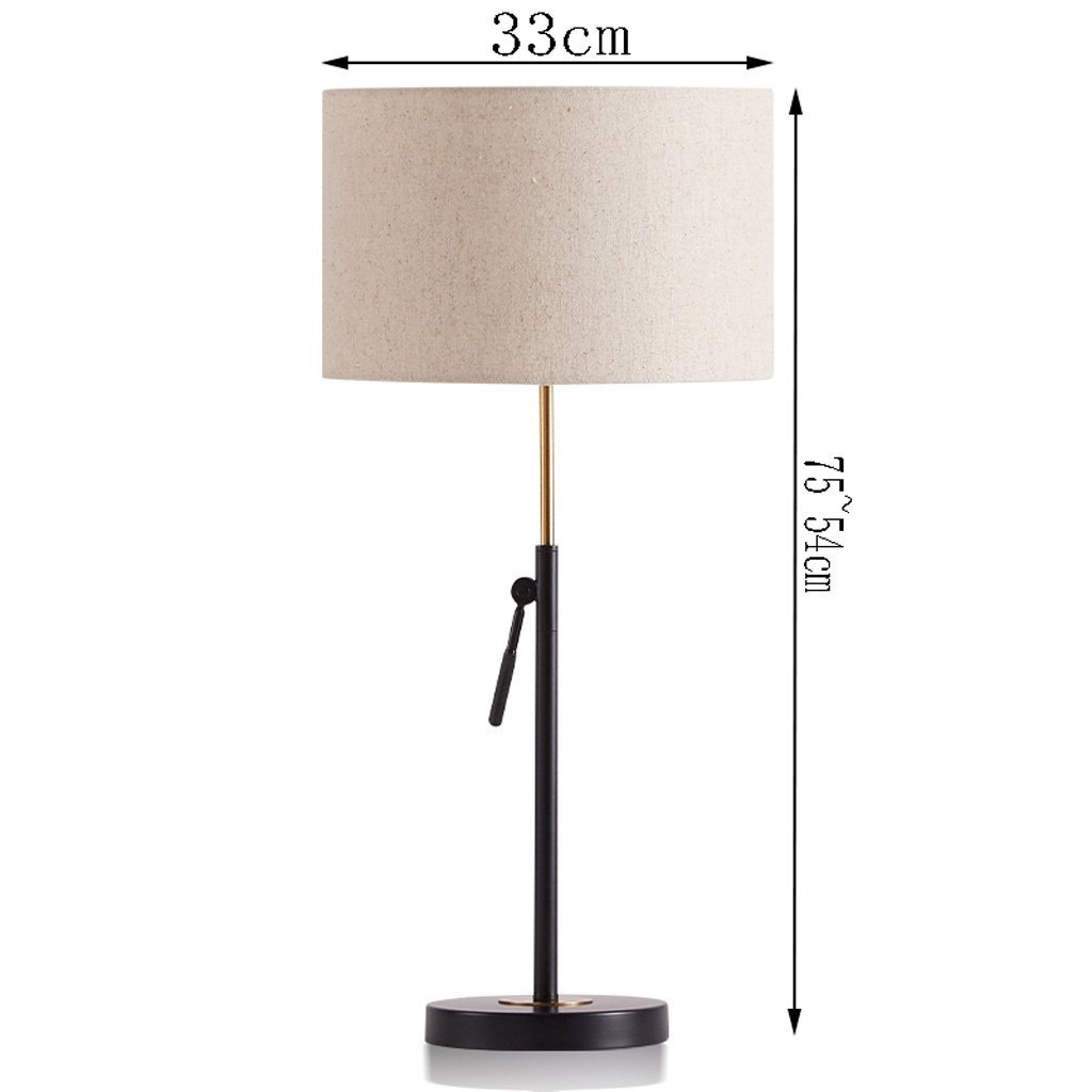 White Table Lamps Bedroom Awesome Amazon Huacang European Elevating Metal White Table