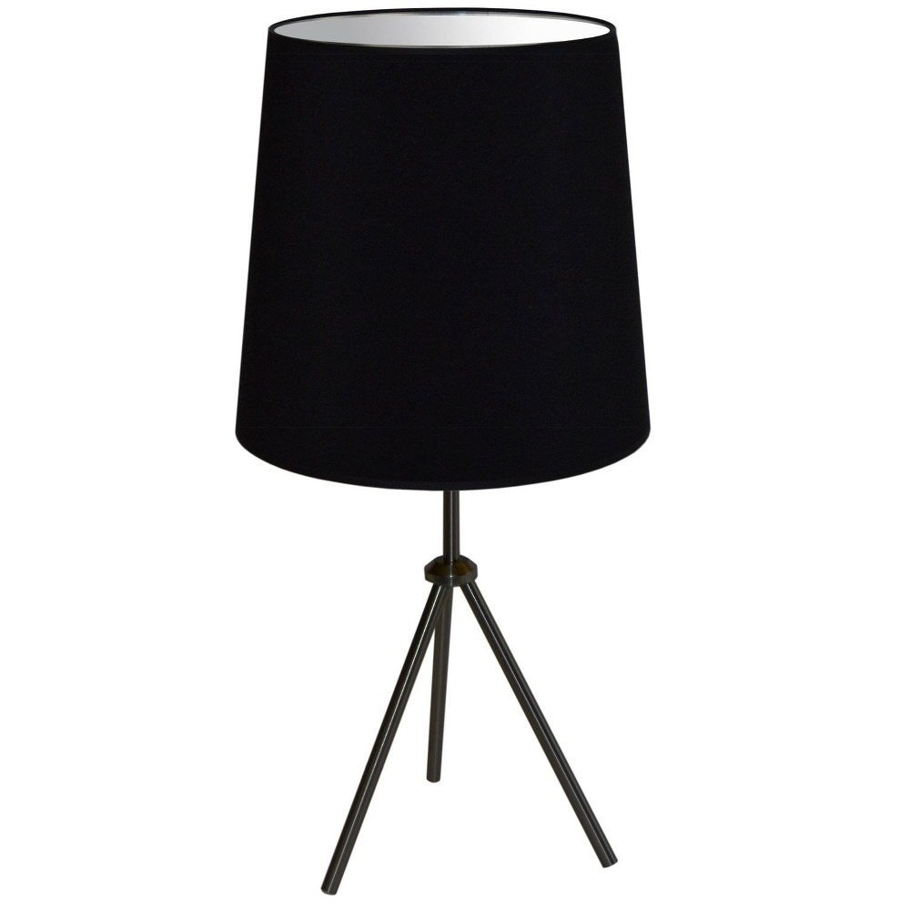 White Table Lamps Bedroom Fresh Details About Dainolite Od3t L 797 Mb Oversized Drum E Light Table Lamp Matte Black