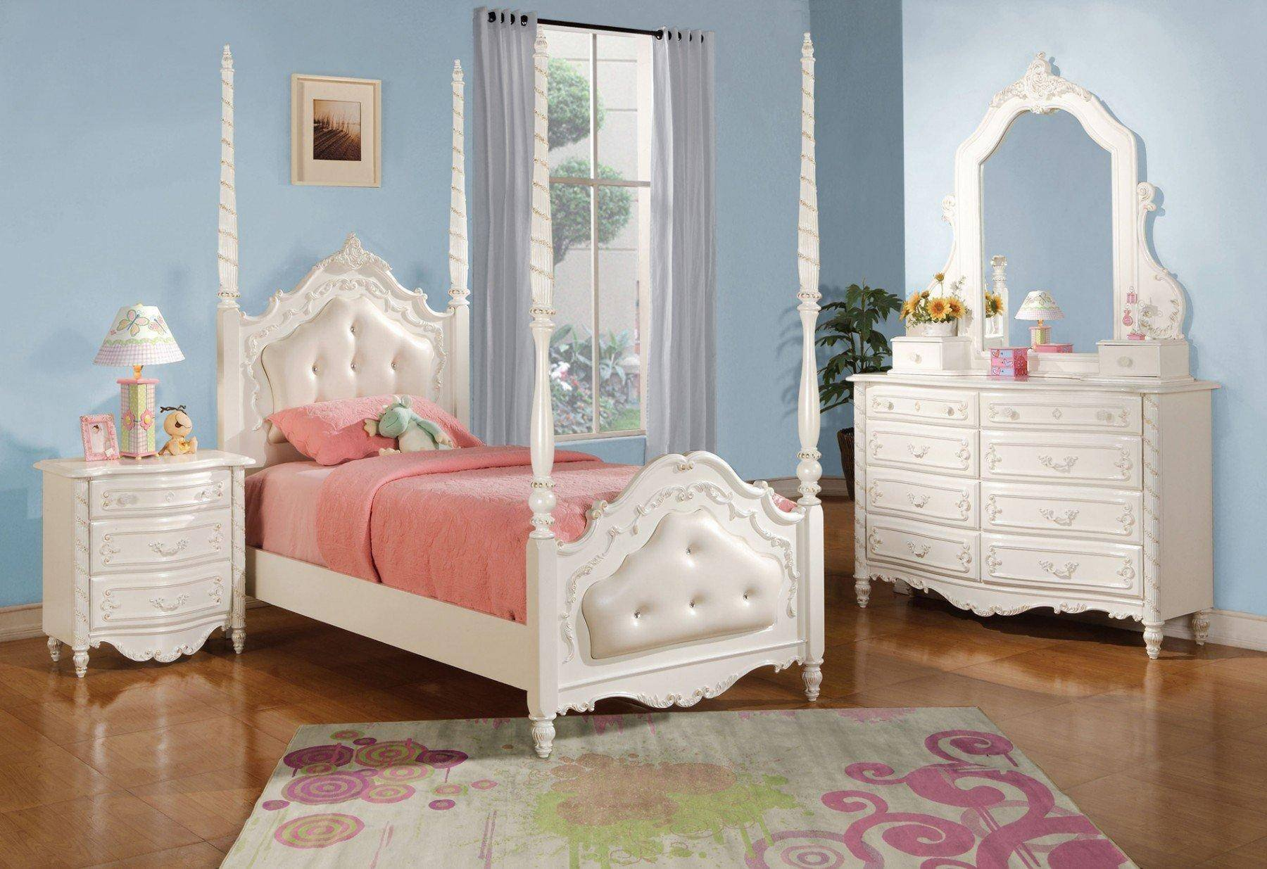 White Twin Bedroom Set Inspirational Acme Furniture T Pearl White Youth Upholstered Poster