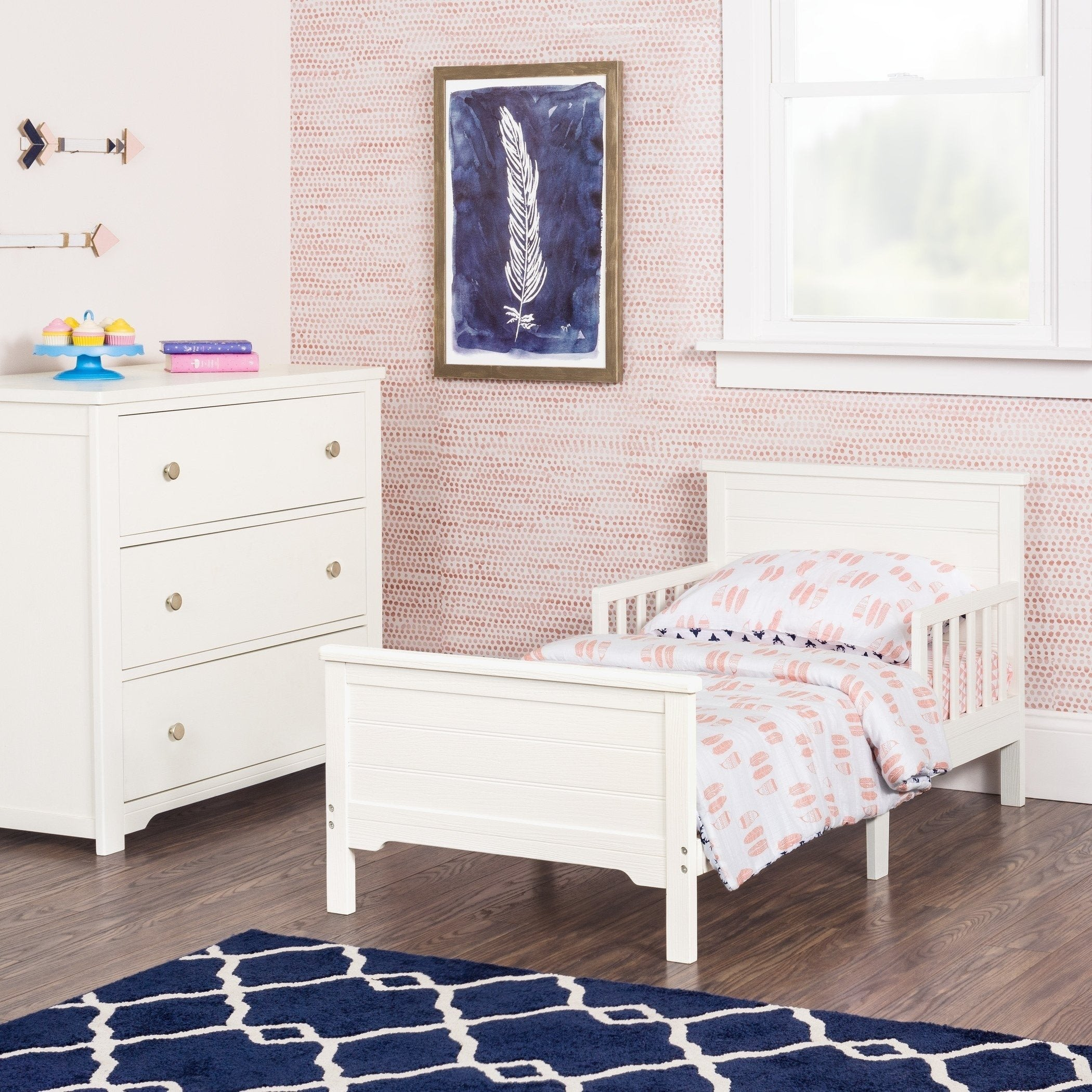White Washed Bedroom Furniture Best Of Woodland toddler Bed with Rails by forever Eclectic