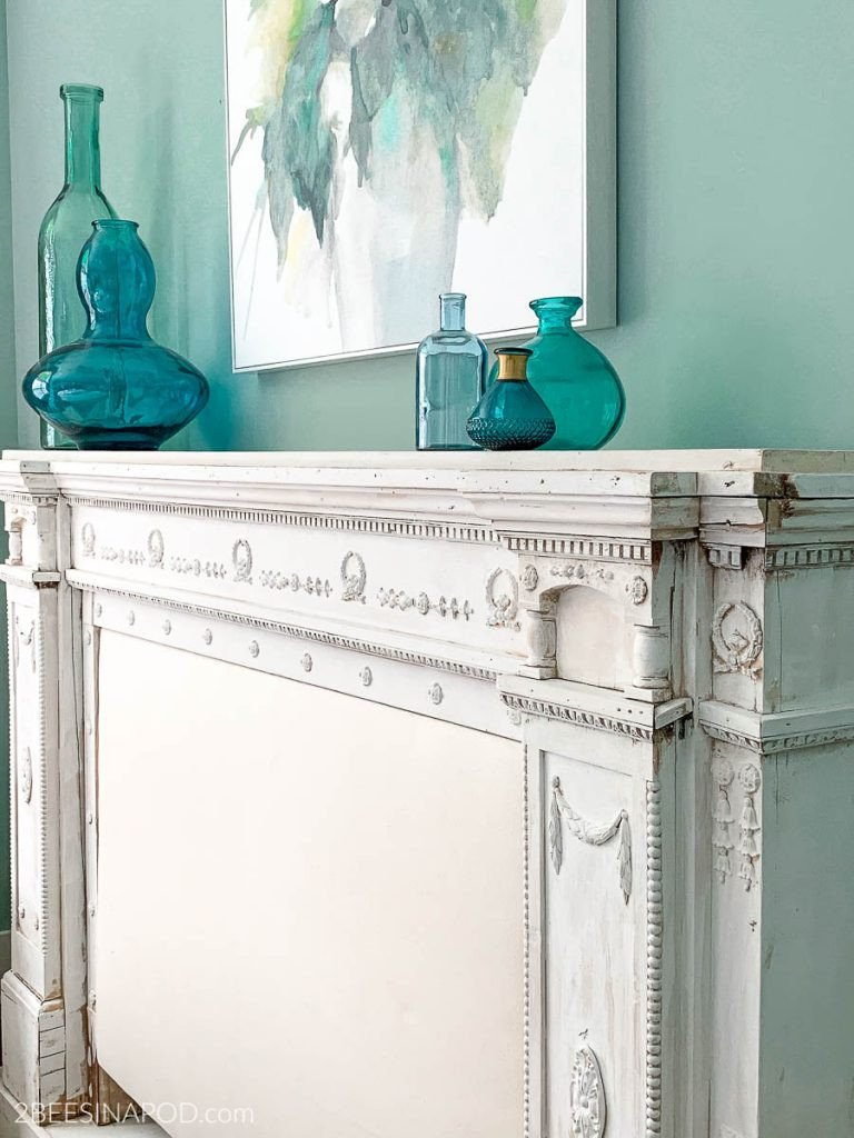 White Washed Bedroom Furniture New White Wash Painted Mantel Headboard Beginnings Of A