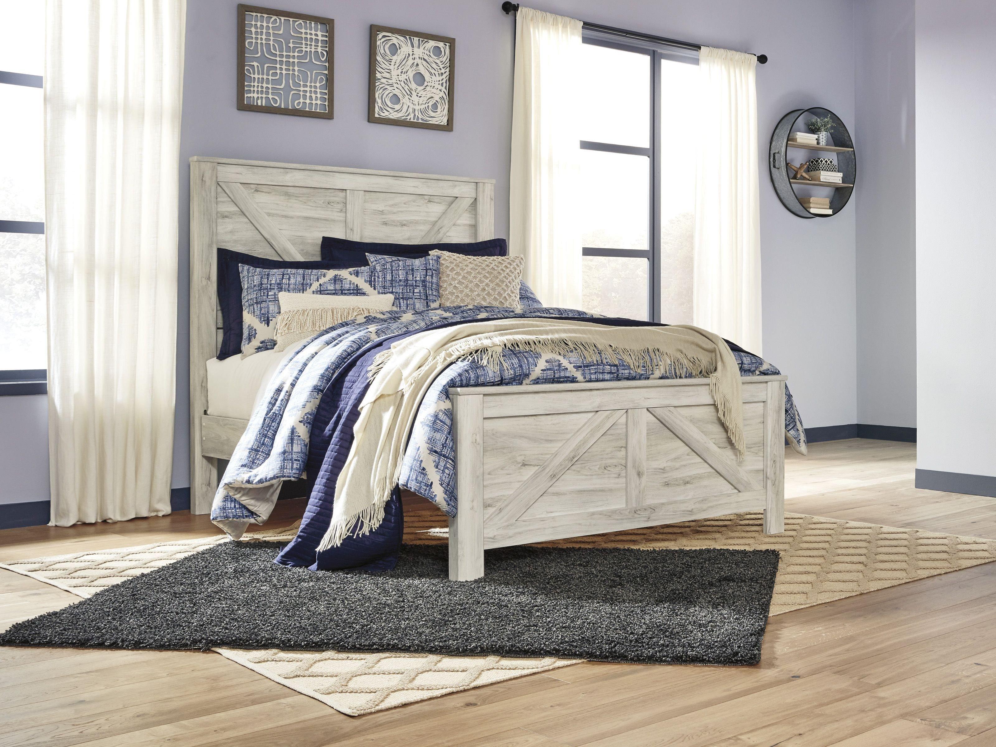 White Washed Bedroom Furniture Set New Bellaby Whitewash Panel Bedroom Set