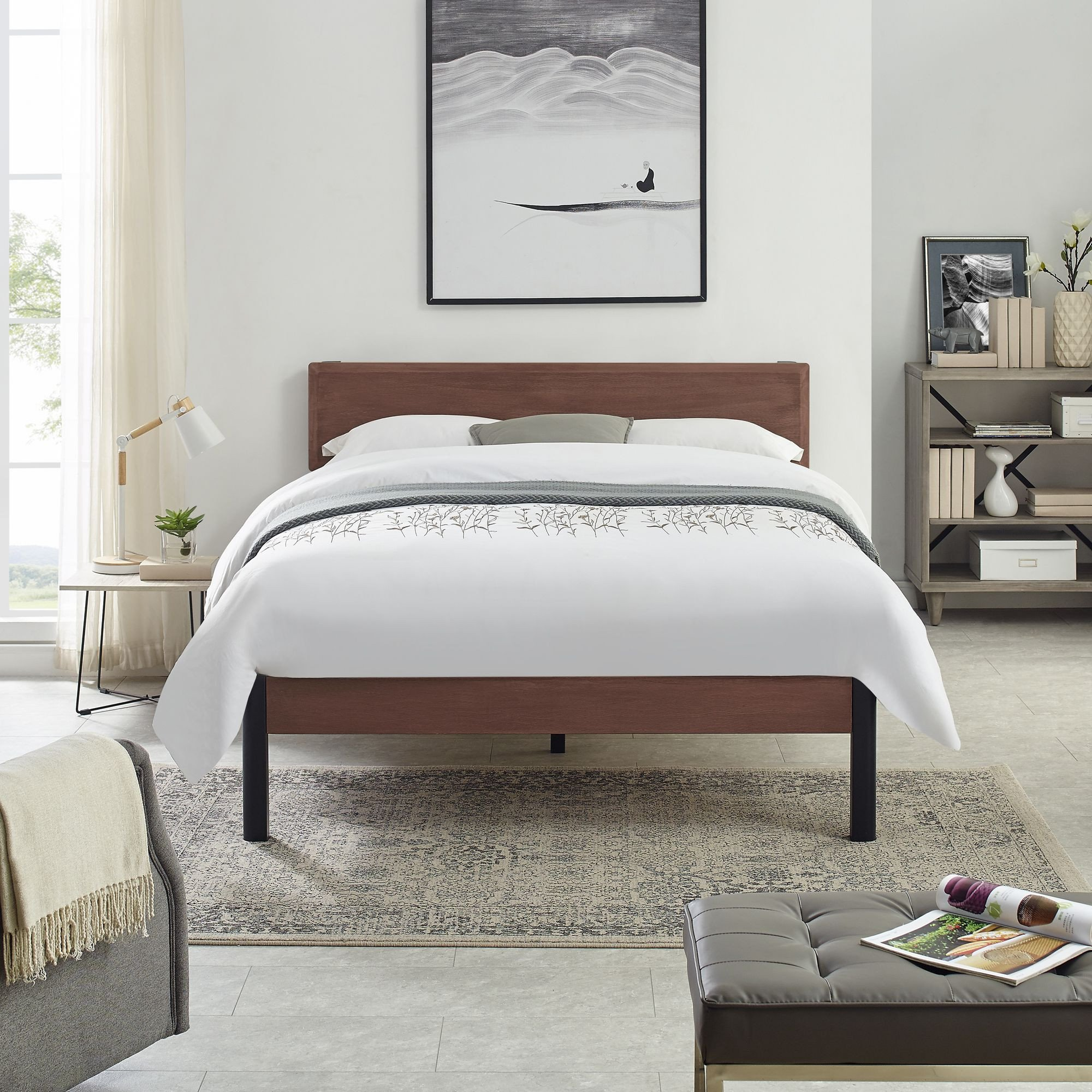Wood and Metal Bedroom Awesome Home In 2020