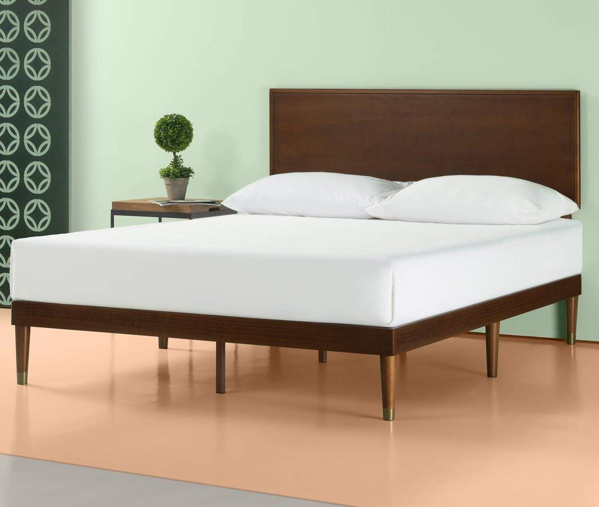 Wood and Metal Bedroom Inspirational Get A West Elm Look for Under $300 with This Mid Century Bed