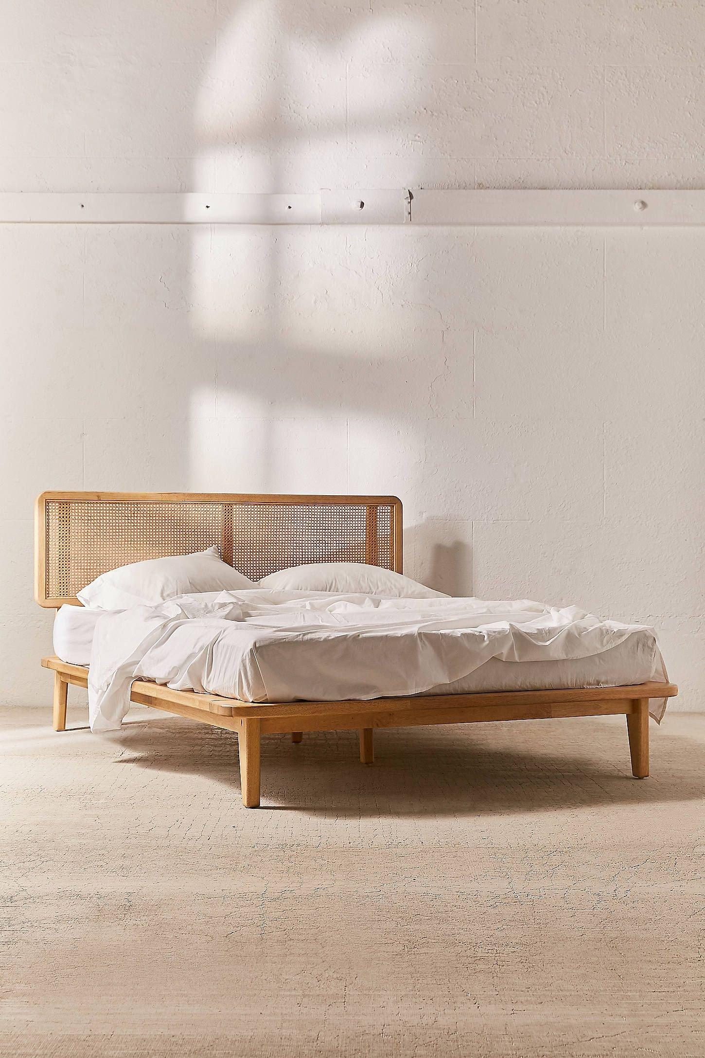 Wood and Metal Bedroom Inspirational Marte Platform Bed