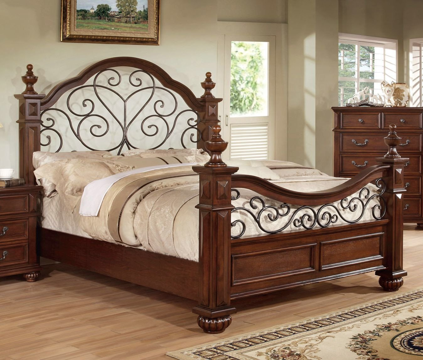 Wood Queen Bedroom Set Fresh Lorrenzia Platform Configurable Bedroom Set