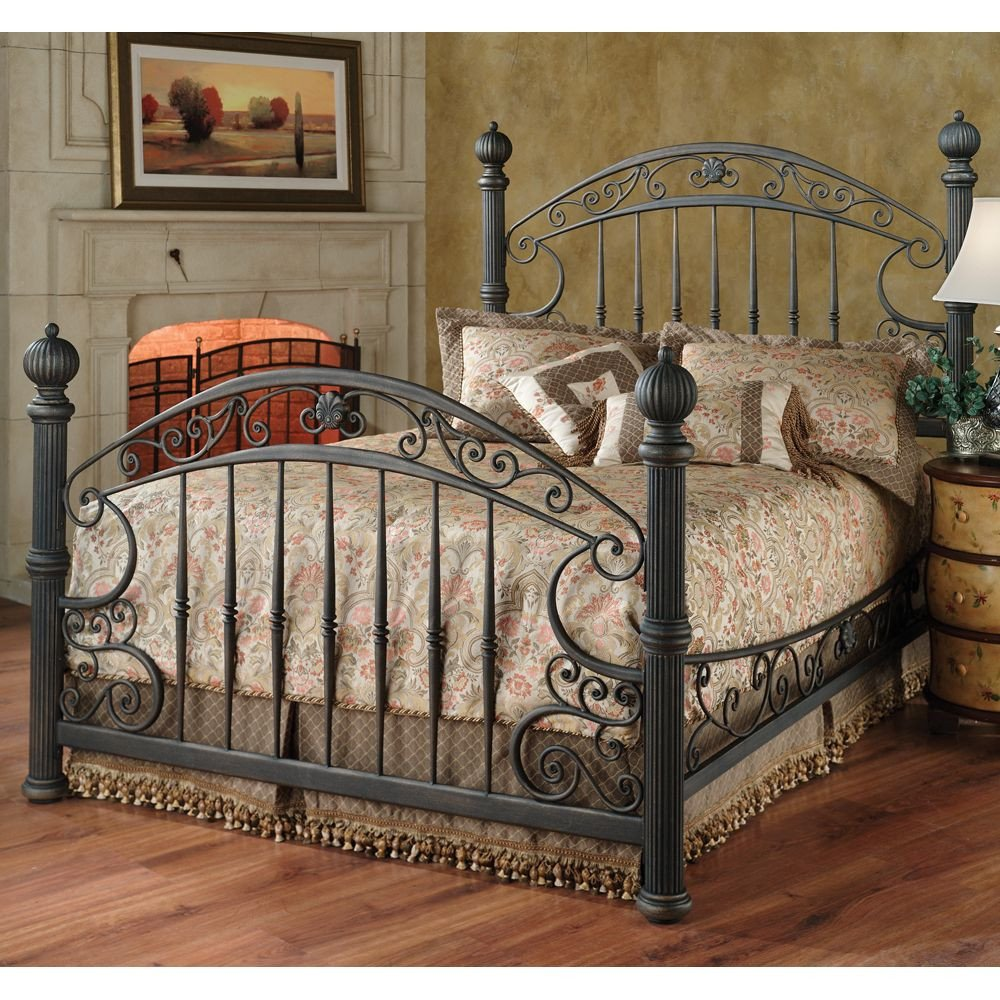 Wrought Iron Bedroom Set Inspirational Chesapeake Iron Bed by Hillsdale Furniture