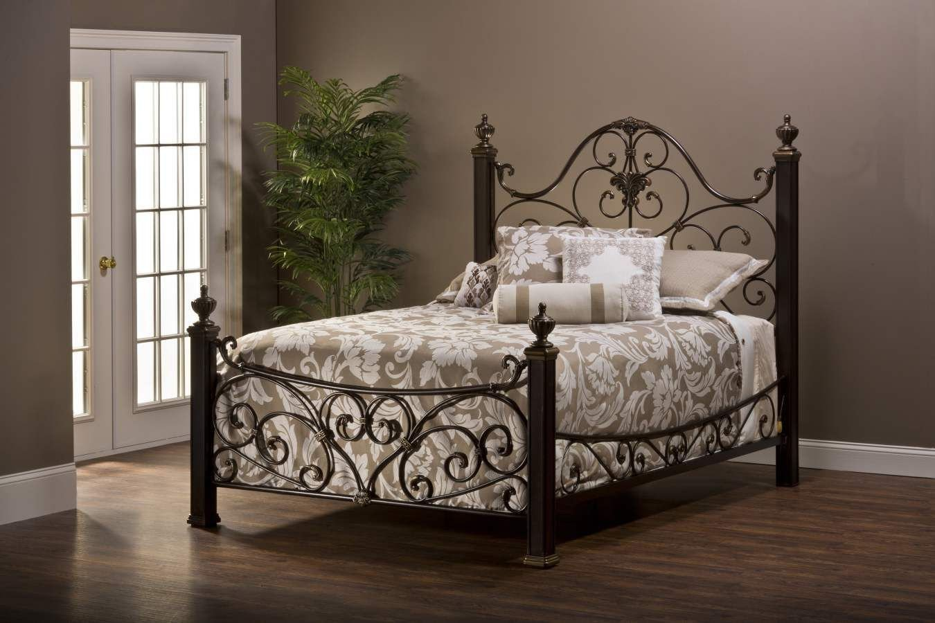 Wrought Iron Bedroom Set New Mikelson King Bed Set W Rails 1648bqr I Love Antique Iron