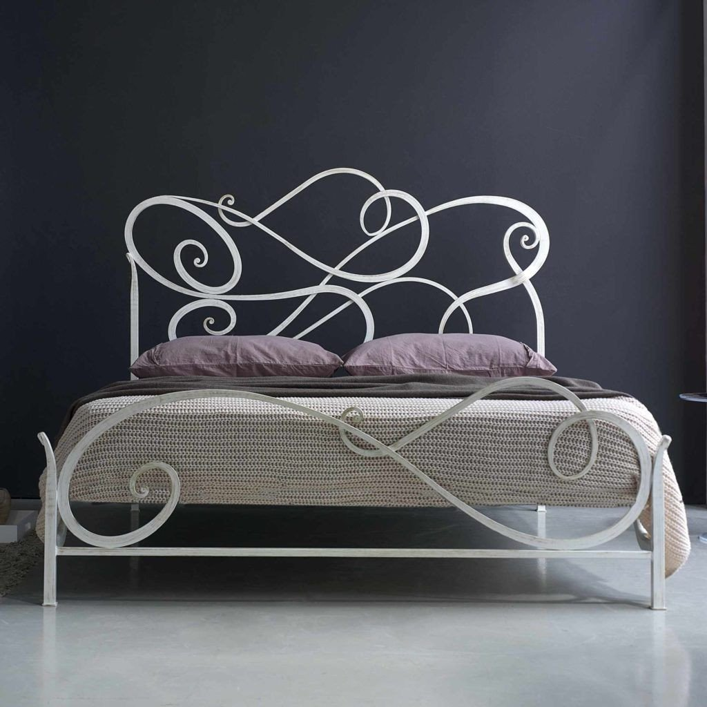 Wrought Iron Bedroom Set New White Wrought Iron Double Bed Frame