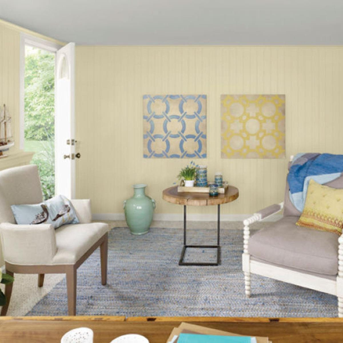 Yellow and Turquoise Bedroom Luxury Chill Out sorbet Colors soothing & Cooling for Summer